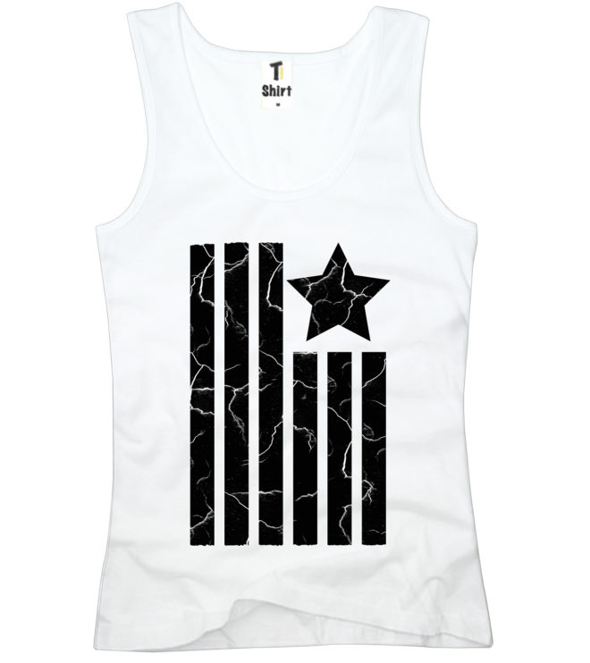 Tank Top für Damen USA Fahne