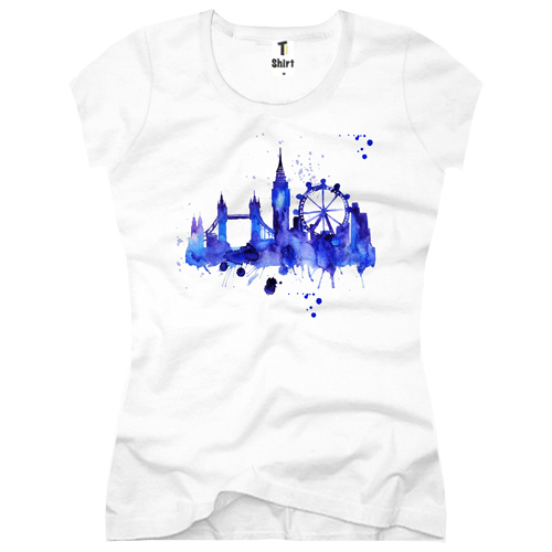 Skyline Damen T-Shirt London