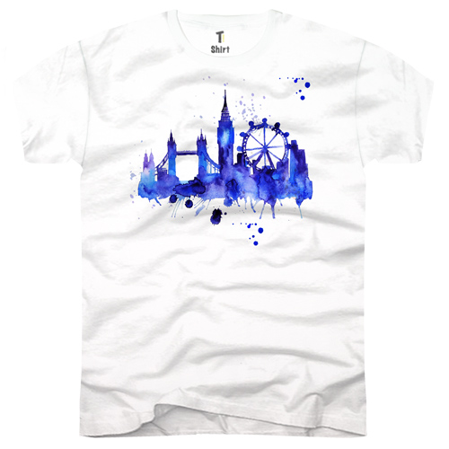 Herren-T-Shirt-London