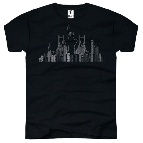 Herren-T-Shirt-new-York