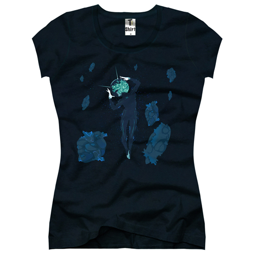 Alien Damen T-Shirt