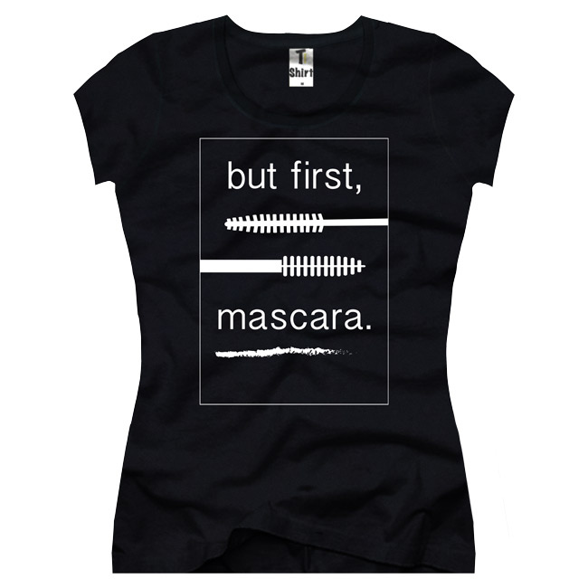 Damen-T-Shirt-mascara